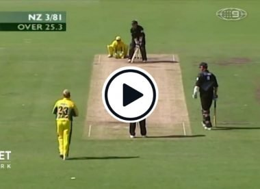 Watch: Craig McMillan does a Chanderpaul impersonation to stun Shane Warne