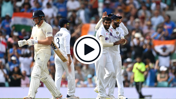 Watch: Jasprit Bumrah channels Waqar Younis to send England stumps flying