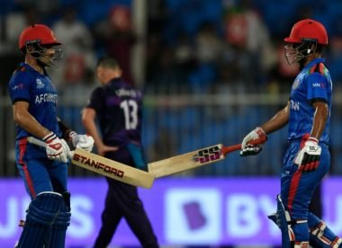 Afghanistan's monster-six success shows its not just their bowling to be feared at the T20 World Cup