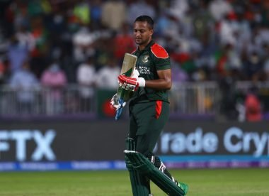 'He literally gives up' - Shakib criticised for lackadaisical run out