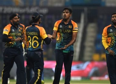Maheesh Theekshana, Sri Lanka's well-kept-under-wraps mystery spinner, could spearhead an unlikely T20 World Cup charge