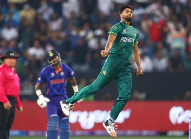 Haris Rauf, Pakistan's wildcard quick, has the raw materials to make a splash at the T20 World Cup