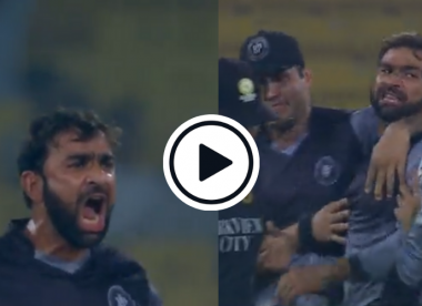 Watch: Iftikhar Ahmed delivers incredible all-round performance to almost singlehandedly lift National T20 Cup final