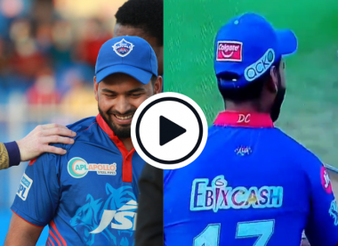 Watch: Rishabh Pant hilariously pranks umpire with wrong shoulder tap during IPL knockout clash