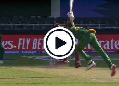 Watch: Anrich Nortje cleans up Andre Russell with pinpoint, 92mph yorker