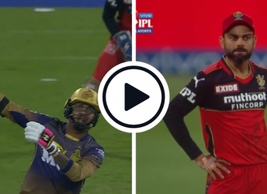 Watch: Sunil Narine smashes his first three balls for six in one of the greatest all-round T20 performances of all time