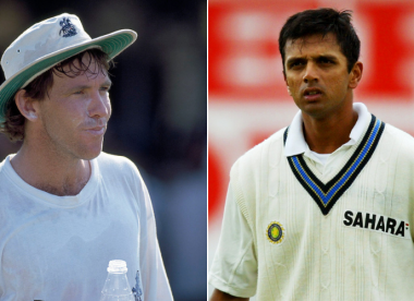Dermot Reeve recalls sledge that made him 'the only person who's ever got under' Dravid's skin