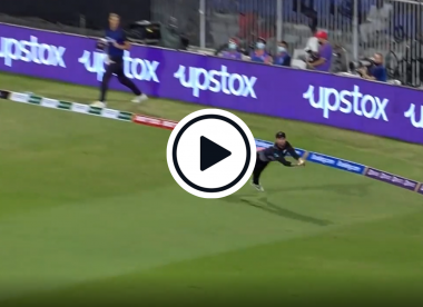 Watch: Full-length diving Devon Conway takes 'one of the all-time great catches' against Pakistan