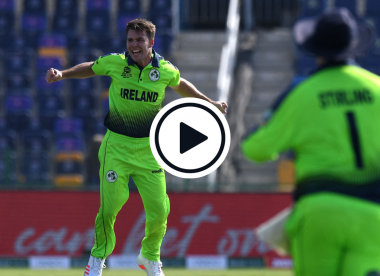 Watch: Ireland newbie Curtis Campher claims record-breaking T20 World Cup double hat-trick