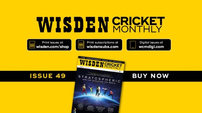 Wisden Cricket Monthly issue 49: The Greatest Show On Turf